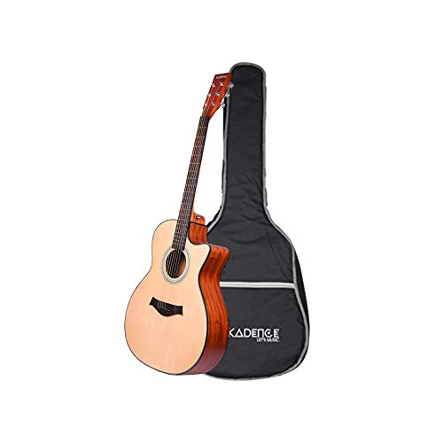 Kadence Acoustica Series, Semi Acoustic Guitar Spruce Top with Bag