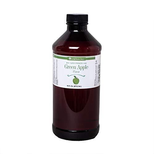 LorAnn Green Apple SS Flavor, 16 ounce bottle