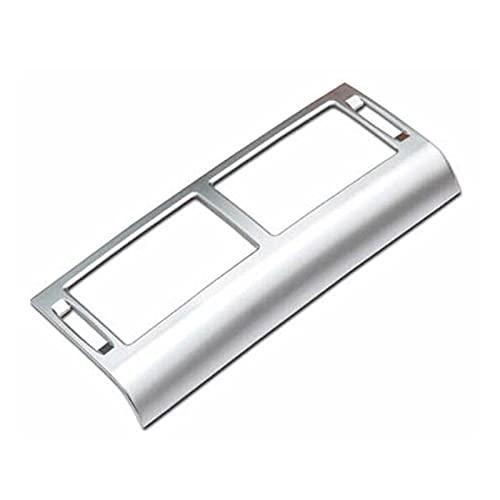 wuwu Condizionatore Console Dashboard Condizionatore d'Aria Outlet Avvettazione della Copertura Decorativa Autoadesivo Adesivo Adatto per Scoperta Accessori Interni Sport (Color Name : Silver)
