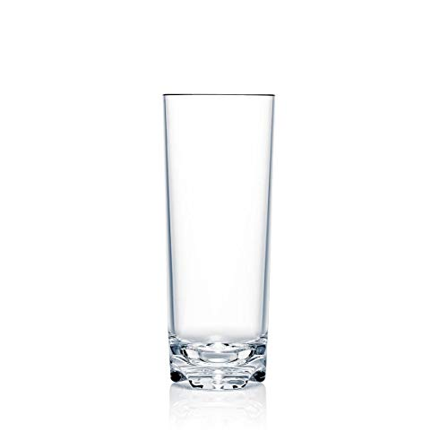 Strahl 10003 Vivaldi 17-oz Beverage Tumblers, Set of 6, Glass