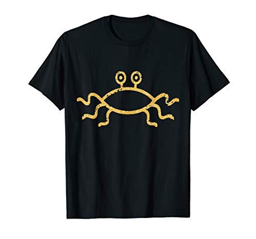 FSM Fliegendes Spaghetti Monster Pastafari Nudeln Religion T-Shirt