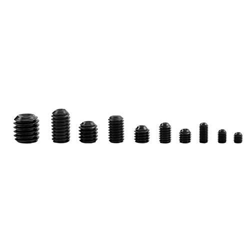 Surtido de pernos DIN916, surtido de tornillos, 240 piezas de acero de aleación 132x70x20MM manijas de puerta grifo para reparación de lámpara
