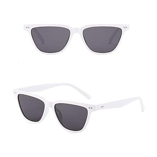 Sunglasses Gafas de Sol de Moda Gafas De Sol Cuadradas Pequeñas Vintage De Moda para Mujer, Gafas De Sol Retro De Diseña