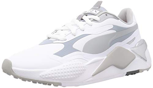 PUMA RS-G Golfschuhe White-Quiet Shade-Quarry UK 8_Adults_FR 42