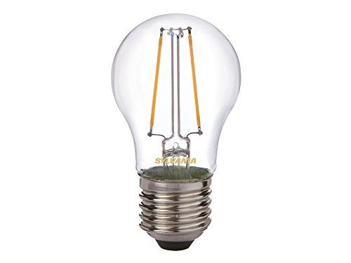 SYLVANIA 27239 LED sphérique SC, Blanc, Taille Unique