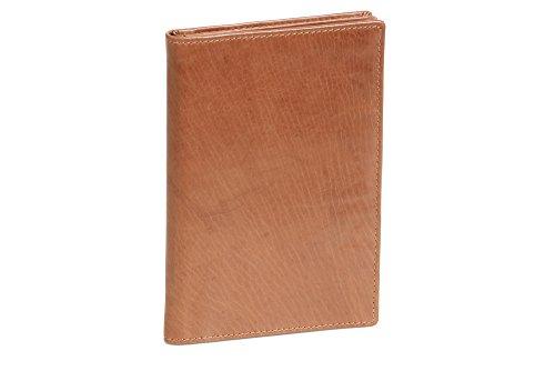 LEAS Brieftasche Echt-Leder, Cognac Special Edition