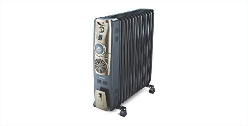 Bajaj Majesty RH 13F Plus 2500 Watts 13 Fins Oil Filled Room Heater (Black/Golden, ISI Approved)