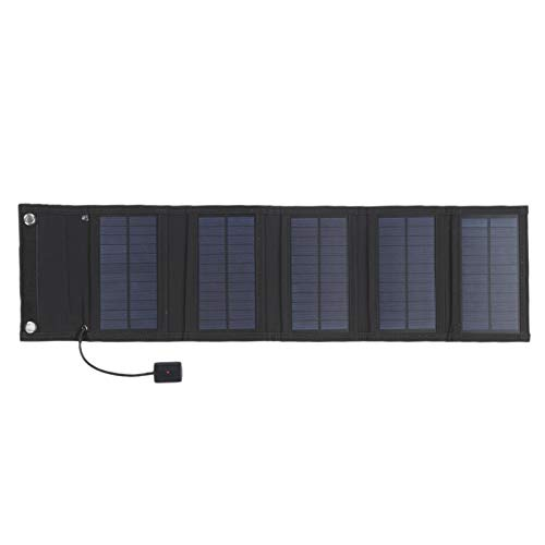 Zwindy Monocrystalline Solar Panel, Foldable Solar Panel, Lightweight for Mobile Phones Tablet Computers