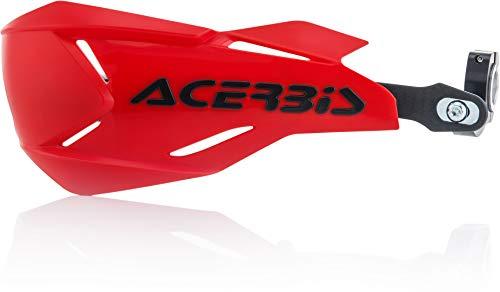 Acerbis 0022397.349 X-Factory, Protège-mains Rouge/Noir Taille Unique