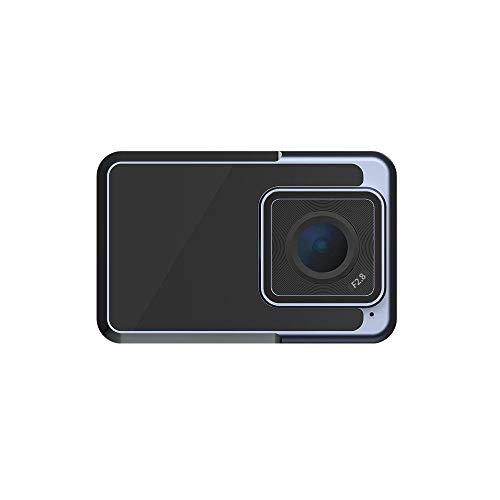 Kanqingqing Cámara Deportiva Cámara 4K vlog Deportes Digital WiFi IP67 a Prueba de Agua Anti-vibración para Deportes acuáticos, como natación (Color : Black, Size : One Size)