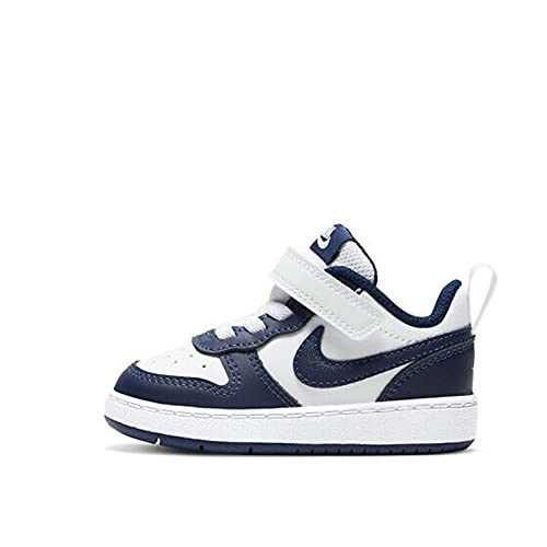 Nike Court Borough Low 2, Zapatillas Deportivas, Midnight Navy Imperial Blue Black, 25 EU