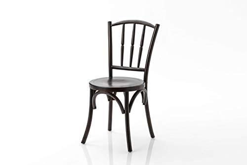Amadeus - Chaise en Orme Tourillon