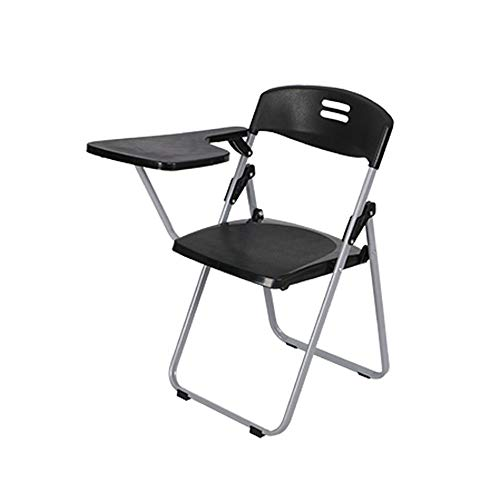 CHENSHJI 42x46x80cm Inklapbare metalen frame stoel met een tablet is ideaal voor horeca frame opvouwbare rugleuning stoel
