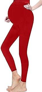 Hi Fashionz Womens Maternity Leggings Stretch Cotton Over Bump Ladies Plus Size Full Length Legging Pants