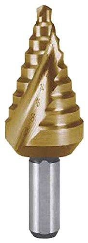 RUKO 2枚刃スパイラルステップドリル 20mm 短尺 チタン 101062T
