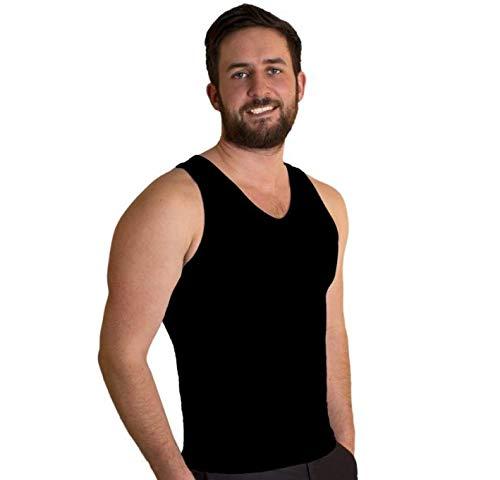 Tone Tee - Camiseta moldeadora para mujer, color blanco o negro