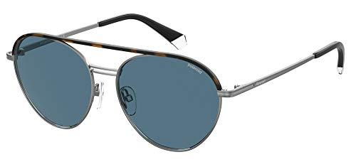 Gafas de Sol Polaroid PLD 2107/S/X Havana Ruthenium/Blue 56/15/145 hombre