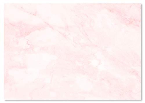 """Schreibtischunterlage """"Marmor rosé"""" aus Papier   DIN A2   24 Blatt   Für Kinder und Erwachsene   Ideal als Notizblock, Organizer, Wochenplaner & Tagesplaner"""