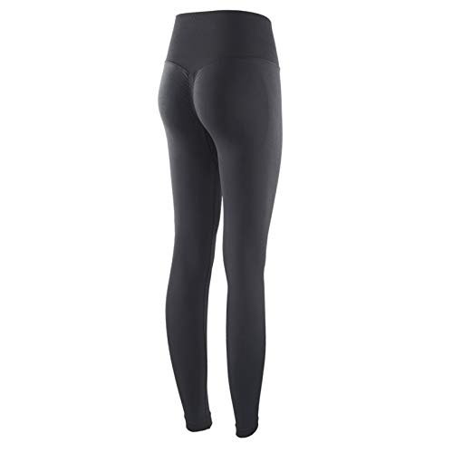 EWDF Pantalones de Yoga Mujeres Leggings Medias Color Sólido Pantalones Deportivos de Mujer Elástico Cintura Alta Pantalones para Mujer Gimnasio Ropa Ropa Ropa de Yoga para Mujer