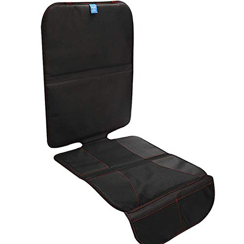 Funbliss Autositzschoner Kindersitzunterlage Autositzauflage Kindersitz - Schutzunterlage ISOFIX geeignet rutschfest wasserdicht | Unterlage Auto Sitzschoner Kinder Autositz Sitzauflage