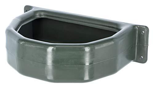Kerbl 324825 Futtertrog Halbrund Kunststoff, Grün