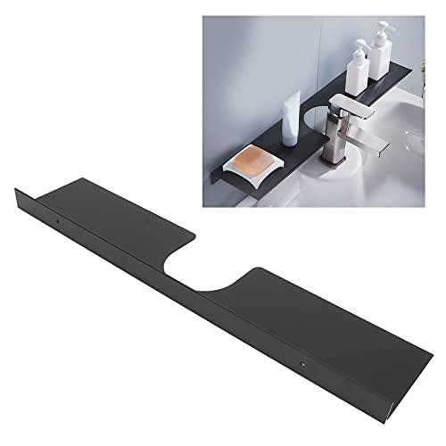 Estantes de baño, diseño de muesca de estante montado en la pared de carga fuerte antioxidante para baños para hotel