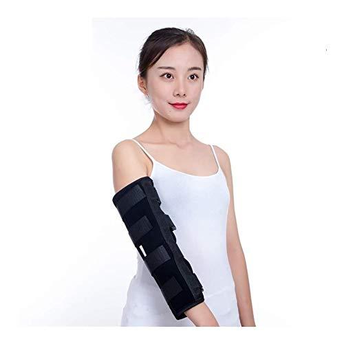 Estabilizador del inmovilizador del codo, abrazadera de soporte del codo Abrazadera ajustable transpirable Cinturón de banda ortopédica for estabilizador de fracturas, túnel cubital, cubital,