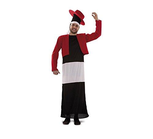 Disfraz de Botella Flamenca para adultos