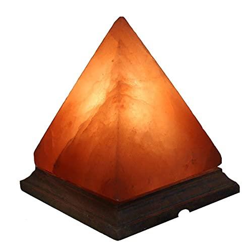 Lampada di sale dell Himalaya Magic Salt® Lighting for Your Soul – (Piramide)