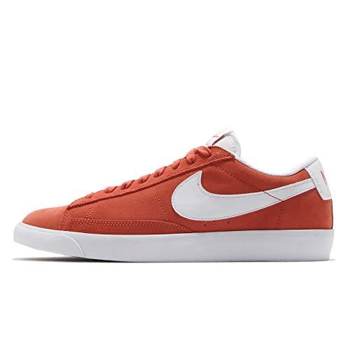 Nike Blazer Low, Zapatillas de bsquetbol Hombre, Mantra Orange White White, 39 EU