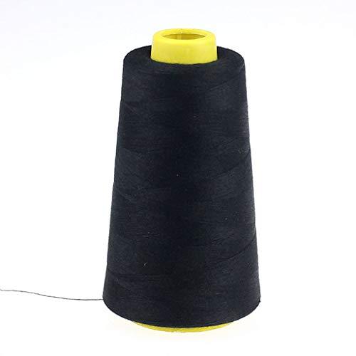 Skxinn 1/2/3/4 Pcs Overlockgarn Nähgarn 2300/3000/6000/8000 Yards Yard, Overlock konen Garn Bastelmaterialien für Nähmaschine,100% Polyester