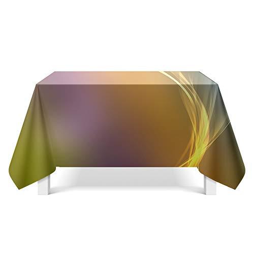 DREAMING-Leichte Textur Kunst Tischdecke Home Tischdecke Tv-Schrank Couchtisch Tuch Runde Tisch Tischset 140cm * 200cm