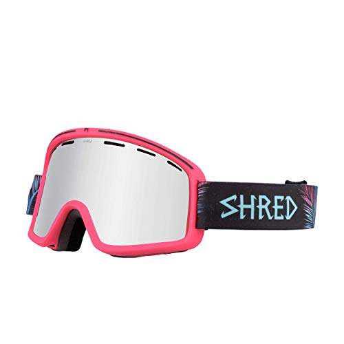 Shred Monocle SPRINGBREAK Platinum Schneebrille, pink, one Size