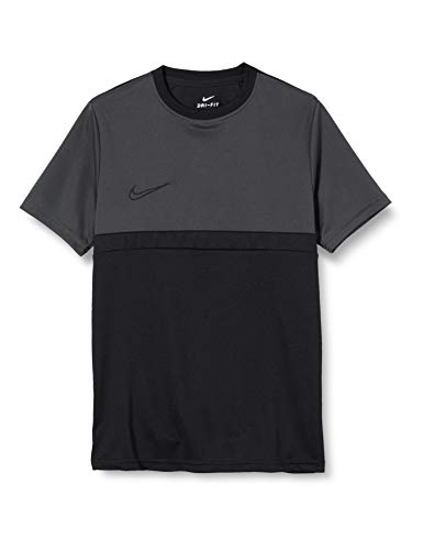 Nike Unisex-Child Dri-FIT Academy Pro T-Shirt, Black/Anthracite/Black/Black, L