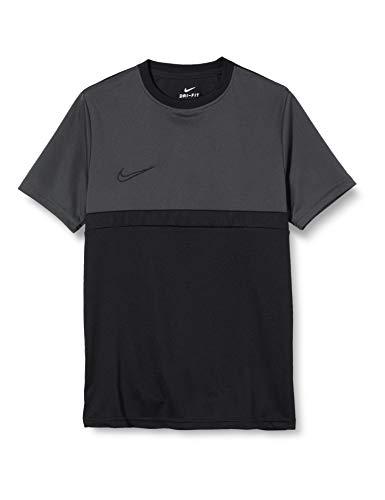 Nike Unisex-Child Dri-FIT Academy Pro T-Shirt, Black/Anthracite/Black/Black, M