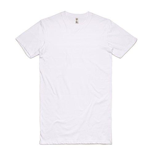 Have It Tall Men's Extra Long T Shirt White Medium