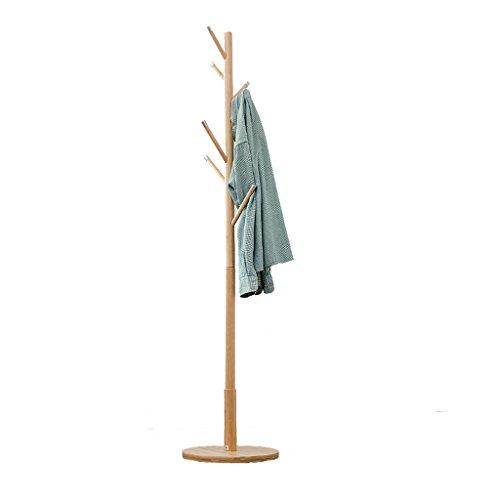 SKC Lighting-Porte-manteau Salon européen de vêtements Ensemble de plancher Ensemble de manteau en bois massif Salon Ensemble de vêtements Ensemble de créativité Ensemble de suspension simple