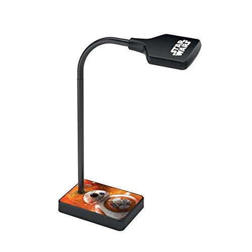 Philips Lámpara de mesa 7177030P0 - Luz nocturna para bebé (Independiente, Negro, Multicolor, Sintético, Mesa, Expresivo, Star Wars)