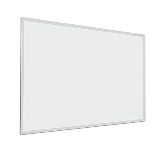 Fab Glass and Mirror Rectangle Frameless Wall Mirror, 30