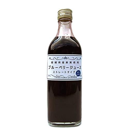 ブルーベリー ジュース 500ml 2本 果汁100%ストレートジュース
