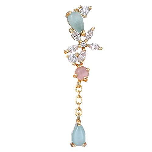 WHFY Sparkly cute Silver Earrings Stud Earrings Korea Style Flower Ear Tragus Earring Piercing Jewelry Stud Earrings For Women Jewelry Gifts Accessory Ears Gift Exquisite