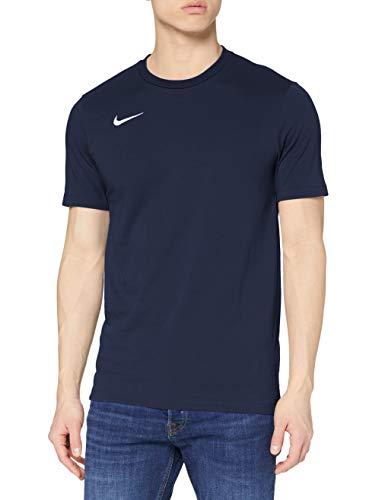 NIKE Club19 Camiseta, Hombre, Azul Oscuro (Obsidian/White), M