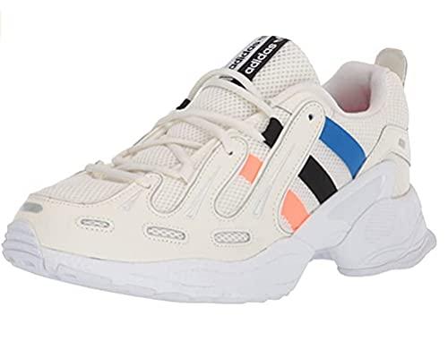 adidas EQT Gazelle Sneakers Panna Nero Blu Arancio Bianco EF5334 (43-1-3 - Panna)