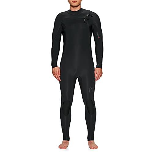 XCEL Traje de neopreno Comp X para hombre de 4/3 mm, talla grande, color negro