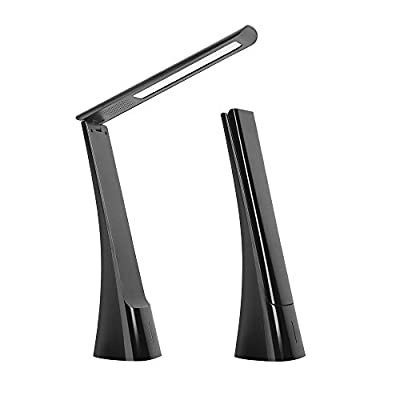 STARPIE Foldable LED Desk Lamp Rechargeable with 3 Lighting Modes & Temperatures, Touch Switch,USB Charge
