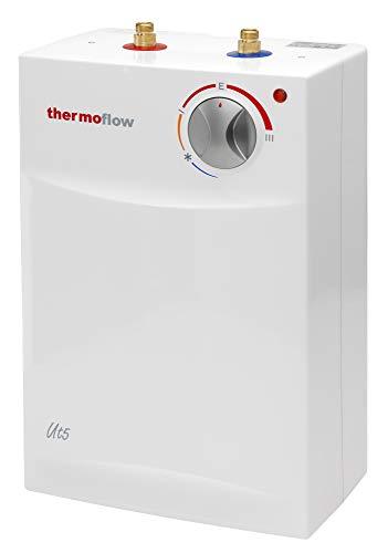 Thermoflow THERMOFLOWUT5 Deposito bajo encimera de 5 litros, Blanco, (H x B x T): 420 x 270 x 180 mm