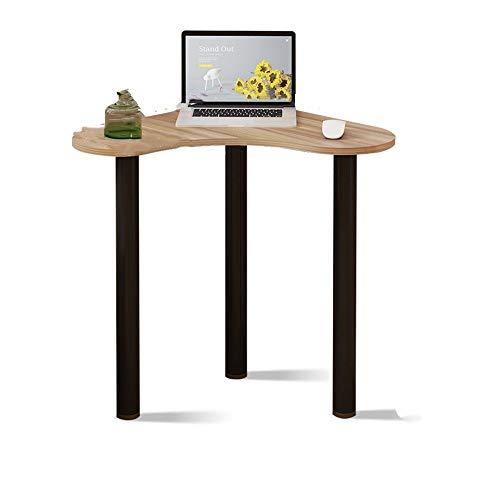 mesa plegable YNN Table Escritorio de la computadora Principal Mesilla de Noche Dormitorio Aprendizaje Escritorio Escritorio esquinero Tocador Triángulo de la Tabla (Color : B)
