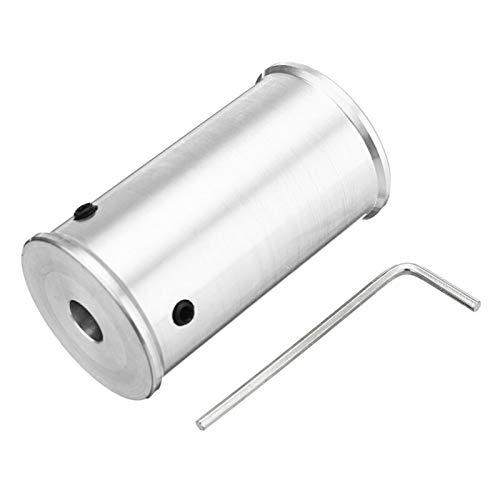 Accesorios de las piezas Aleación de aluminio de 50 mm de bricolaje rodillo impulsor lijadora de banda transportadora for 8/10/12 mm de bricolaje herramienta abrasiva de la rueda del motor del husillo