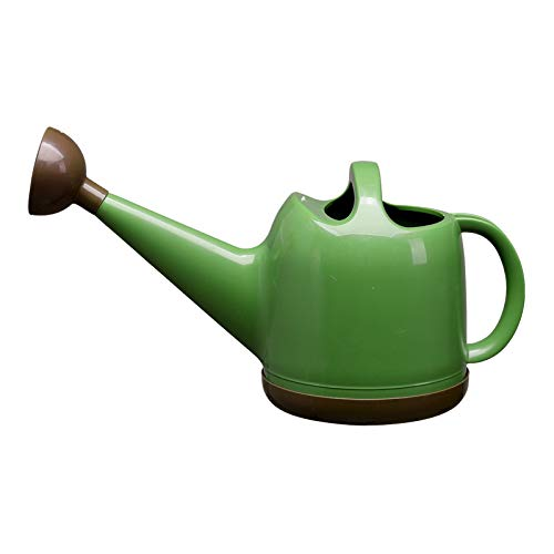Watering Can,Long Spout Watering Kettle with Nozzle,Modern Garden 4L Detachable Spray Head Watering Pot for Office,House,Indoor & Outdoor Watering Bonsai Plants,Herbs,Vegetables,Potted Flowers (Green)