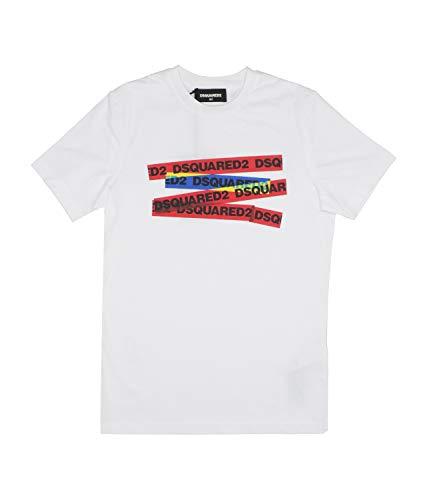 DSquared dq03xyd00mq T-Shirt Kinder weiß 12